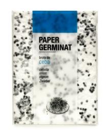 Germinating paper - onion