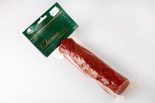 Chorizo bio pieza 350g.