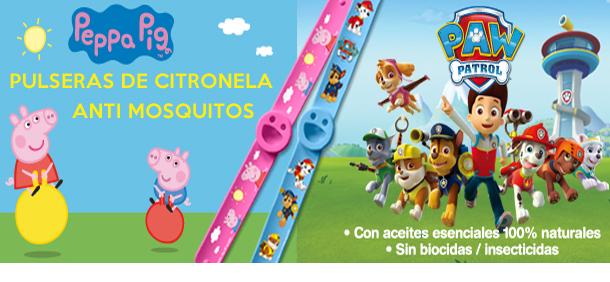 Banner pulseras Nickelodeon