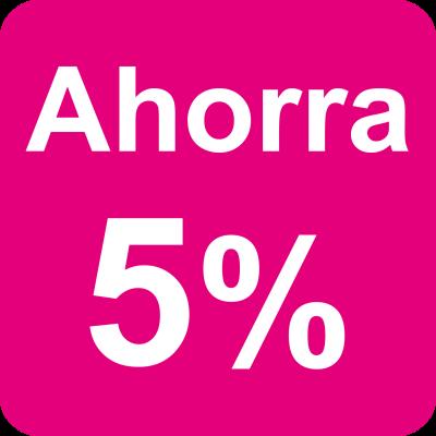 5% para clientes habituales