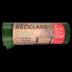 Bolsas de basura reciclables Relevo
