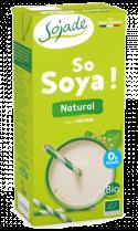 Bebida natural de soja 1l.