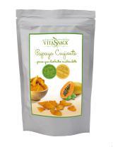 Papaya crujiente snack eco 24g.