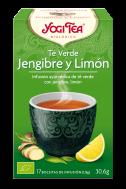 Té verde jengibre y limón 17 bolsitas