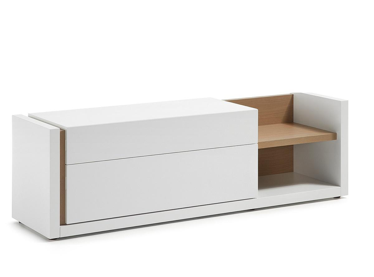 Mueble tv norway muebles de salon hipermueble for Muebles auxiliares para television
