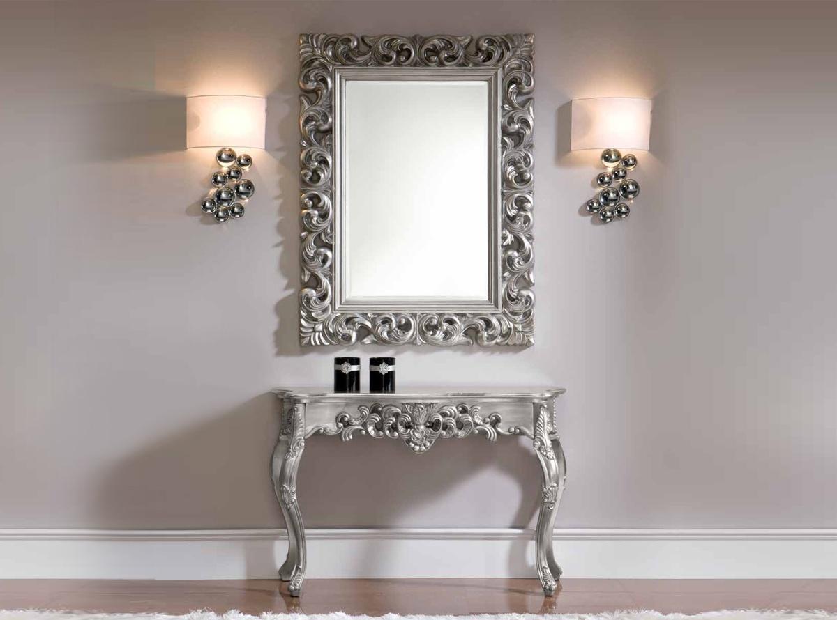 Consola rasac muebles auxiliares hipermueble for Aparadores con espejo