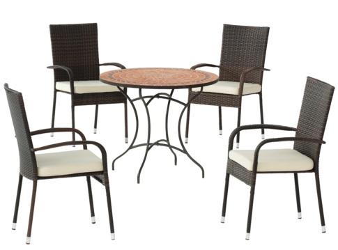 Muebles de jardin muebles baratos hipermueble for Conjunto terraza barato