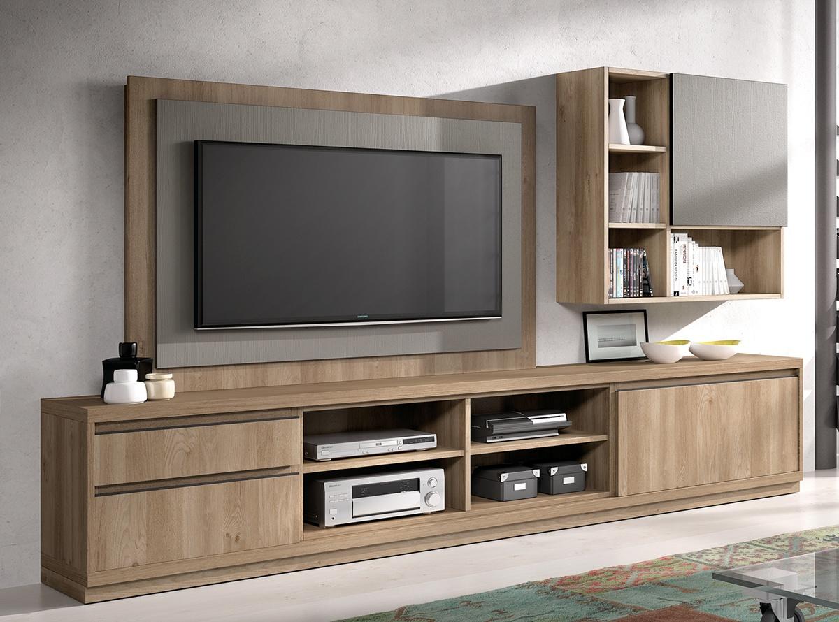 Mueble de salon seban salones modernos hipermueble for Zapateros modernos giratorios