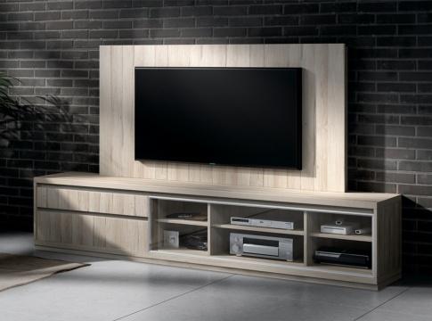 Mueble TV MUSUR - Muebles de salon  HIPERMUEBLE
