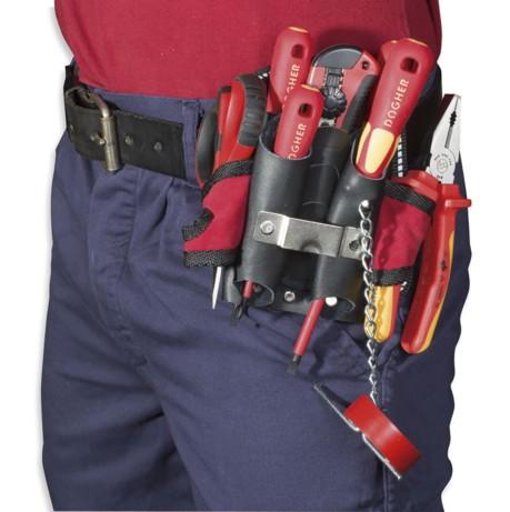 Bolsa herramientas cintura (electricista)