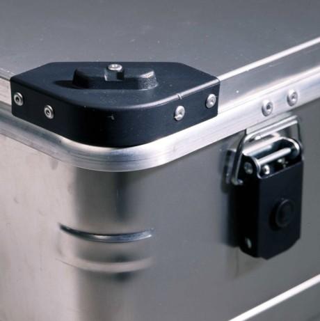 Caja aluminio profesional reforzada con tapa 157 L