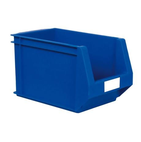 Caja de pl stico con abertura frontal de 12 00 l color - Caja almacenaje plastico ...