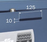 Caja fuerte para sobreponer 1 balda (bluettoth)