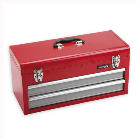 Caja herramientas metálica 2 cajones