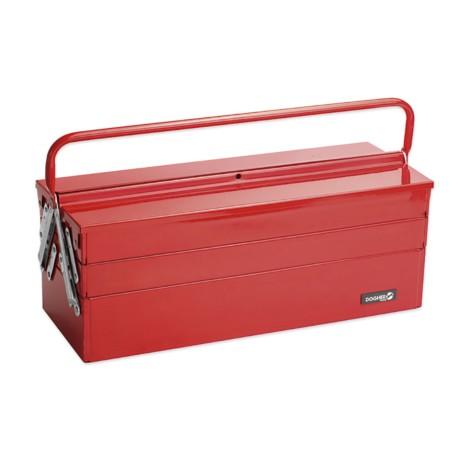Caja herramientas metálica larga