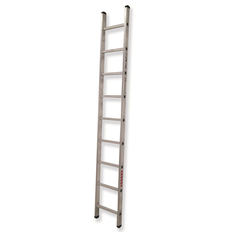 Escaleras de aluminio escaleras almateca for Escalera un tramo