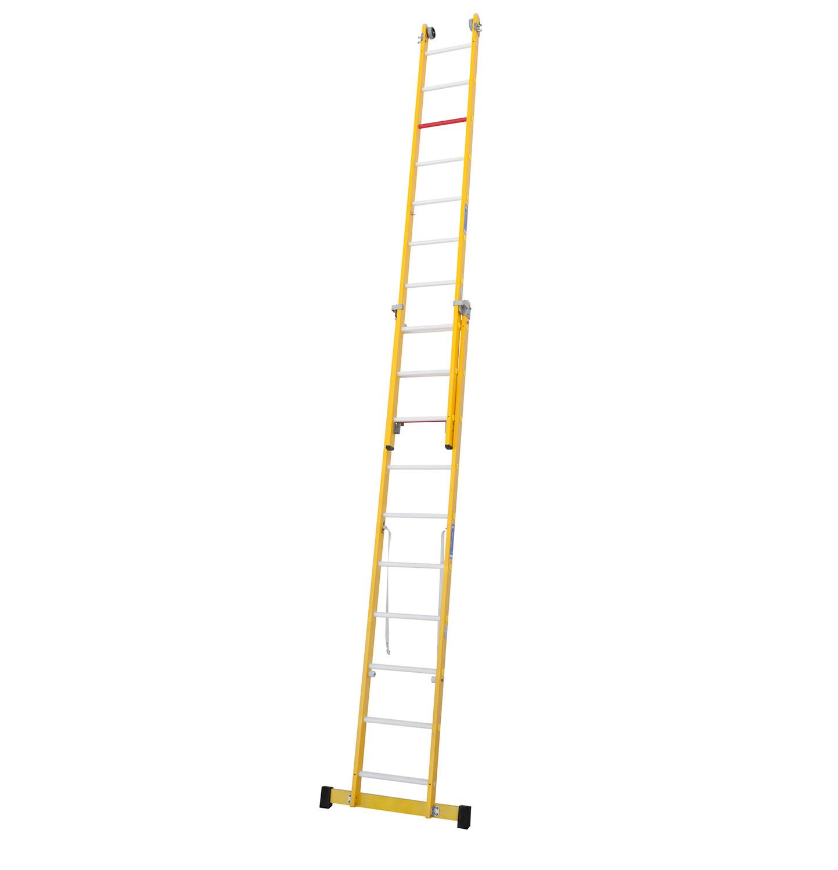 Escalera fibra combinada for Escaleras fibra