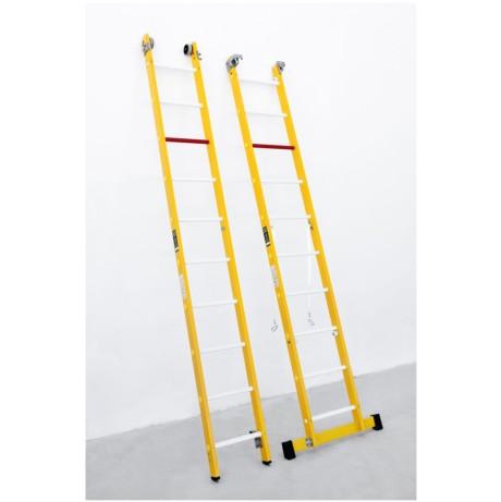 escalera fibra vertical