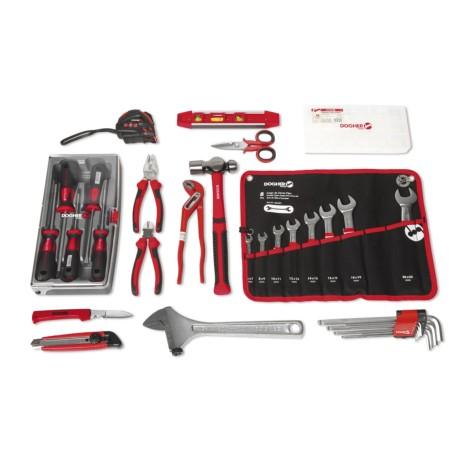 Mochila + 32 herramientas y organizador