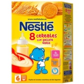 Nestle 8 Cereales con Galleta María 600 g - Botica Digital