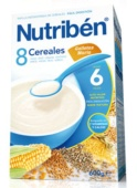 Nutriben 8 Cereales y Galleta María 600 g - Botica Digital