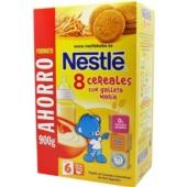 Nestle 8 Cereales Con Galleta María 900 g - Botica Digital