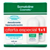 Somatoline DUPLO Hipersudoración Desodorante Roll-On 30 + 30 ml Botica Digital