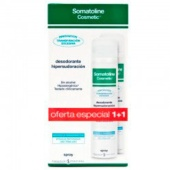Somatoline DUPLO Hipersudoración Desodorante Spray 75 + 75 ml Botica Digital
