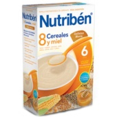 Nutriben 8 Cereales, Miel y Galleta María 600 g - Botica Digital