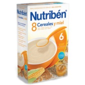 Nutriben 8 Cereales y Miel 600 g - Botica Digital