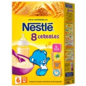 Nestle 8 Cereales 600 g - Botica Digital