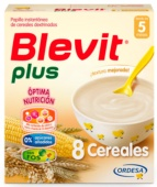 Blevit Plus 8 Cereales 600 g - Botica Digital