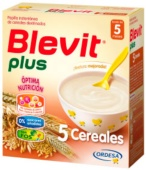 Blevit 5 Cereales Plus 600 g - Botica Digital