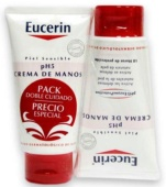 Eucerin pH5 Crema de Manos 75 ml + 75 ml DUPLO - Botica Digital