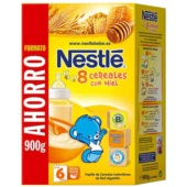 Nestle 8 Cereales Con Miel 900 g - Botica Digital