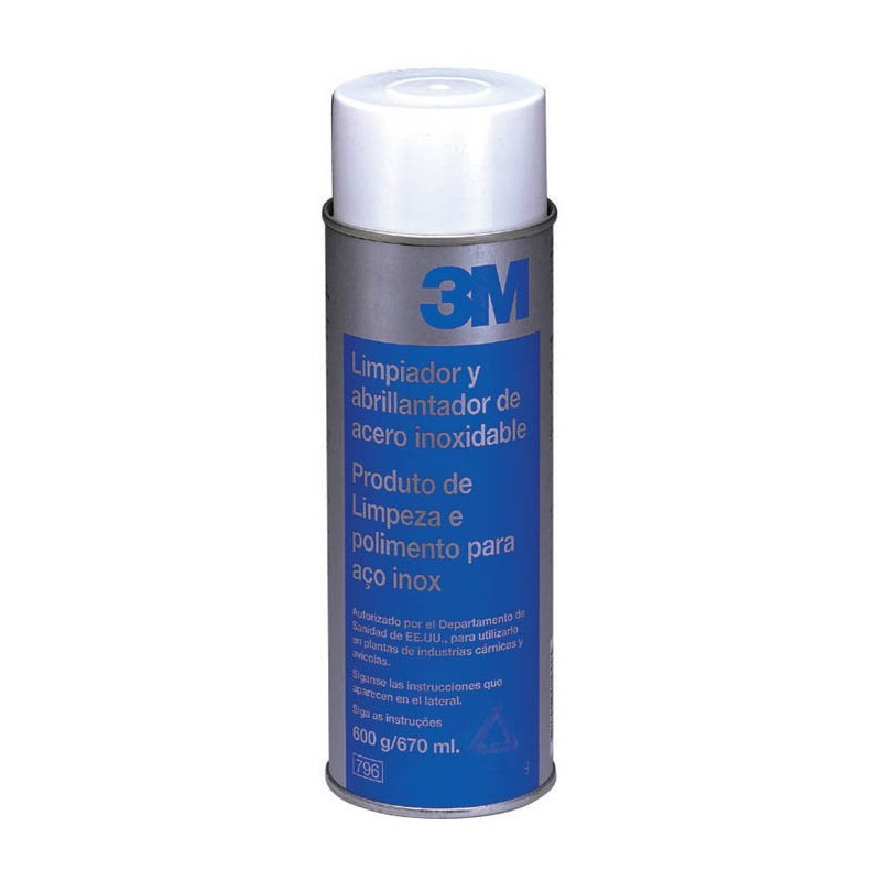 Limpiador abrillantador acero inox 3m 0 67l suministros - Limpiador acero inoxidable ...