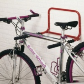 Soporte bicicleta pared plegable