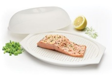 Recipiente pescado para microondas Kitchen Craft