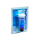 Comprobador ph+cloro tiritas pooltest