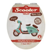 Tapa WC Vintage Scooter 38,8x44,50