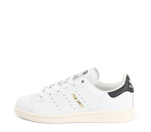 Ref. 3261 Adidas Stan Smith piel blanco con detalles negro.