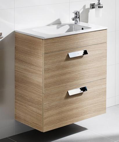 Meuble de salle de bain unik debba avec tiroirs fond for Prix meuble salle de bain roca