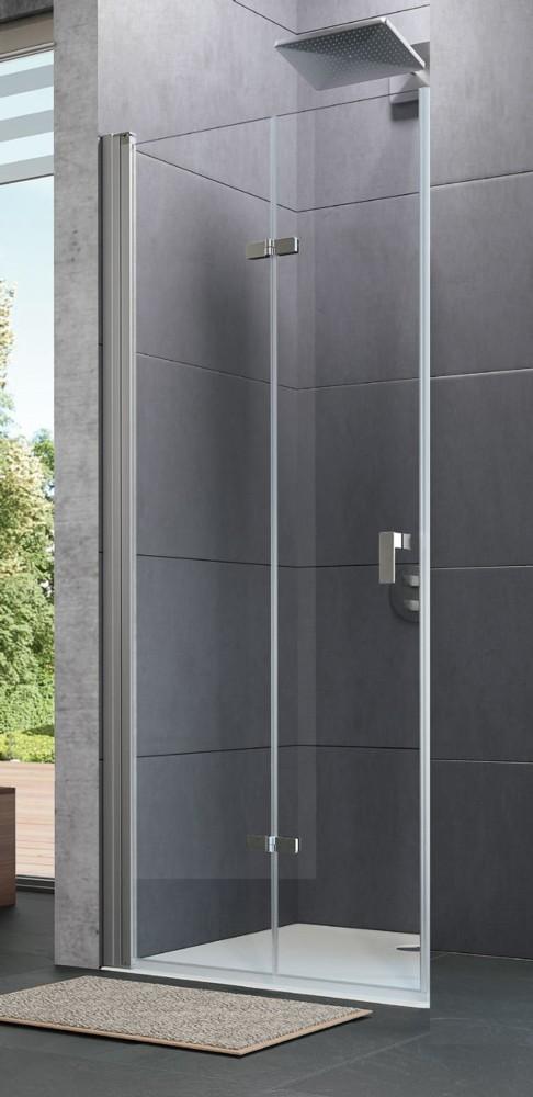 Paroi de douche pliante design huppe for Porte de douche pliante