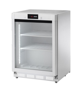 Vitrina congelador puerta cristal 140 l.