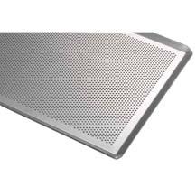 Bandeja perforada aluminio 60x40 Pack de 20 unidades