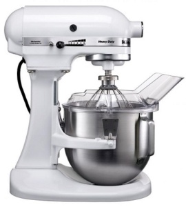 Batidora KitchenAid Heavy Duty blanco 4.8l. 5KPM5WH