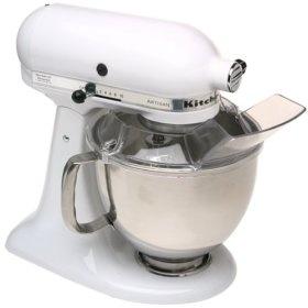 Batidora Kitchen Aid Artisan blanca 4.8 l.