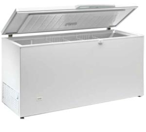 Arcón congelador profesional 157cm abatible