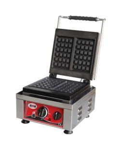 Gofrera eléctrica simple hierro colado -GMGKGW2530E