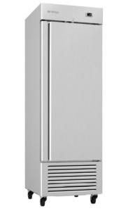 Congelador vertical Infrico Inox 1 puerta